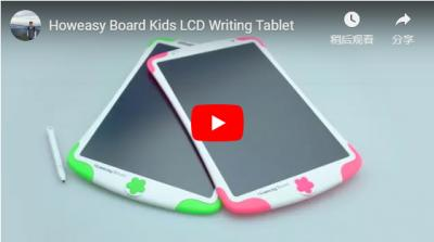 Tableta de escritura LCD Howeasy Board Kids
